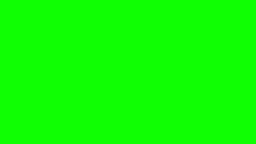 Hand Slapping Screen From Right Side On Green Screen Chroma Key (Good For Web Designers, Web Developers And Youtubers)