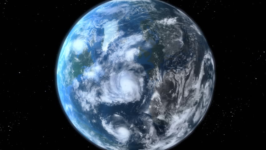 Earth Zoom, beautiful 3d animation. Also see a new version Clip ID 11594681  | Shutterstock HD Video #1034845