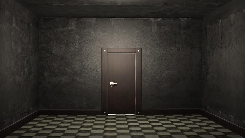 Door Opening And Illuminating A Dark Room (HD 1080p, 30fps ...