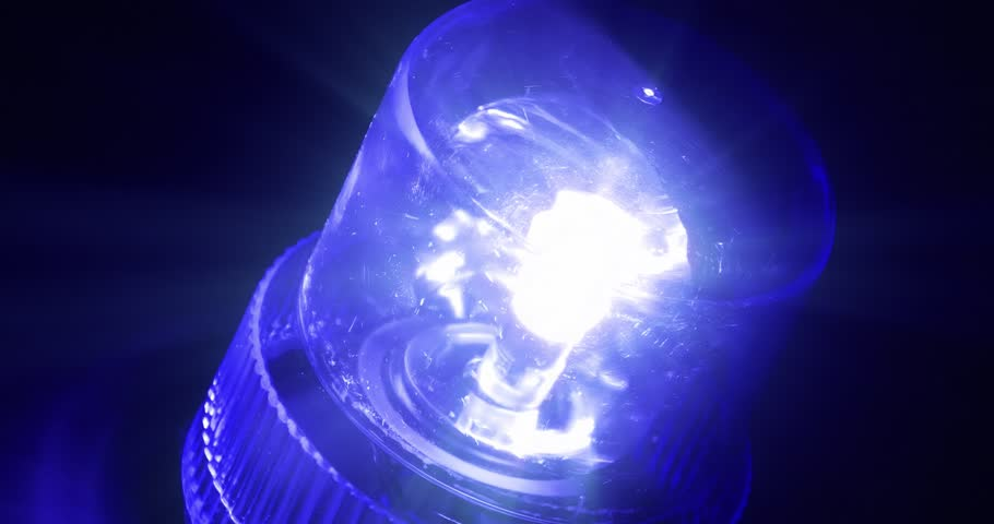 4K - Blue flasher