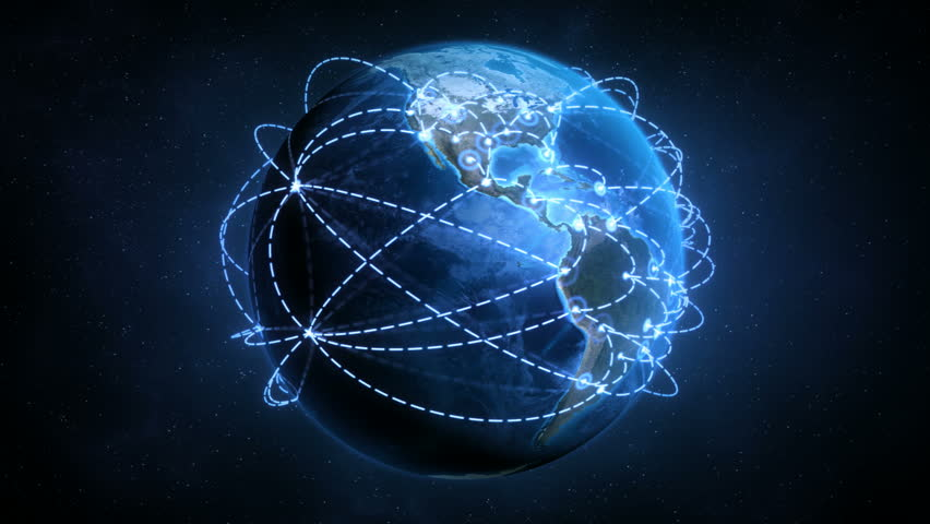Growing Global Network - Accelerated Growth Version - Preview is darker than actual - Check portfolio for variations. - HD stock video clip