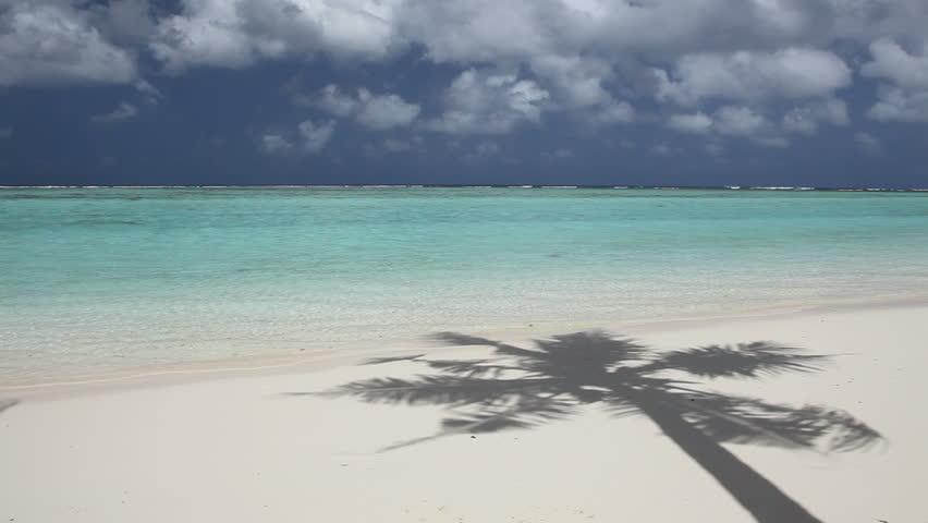 Beautiful Beach of pacific island #1104937