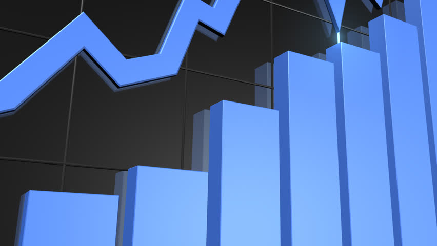 Rising Bar Chart HD