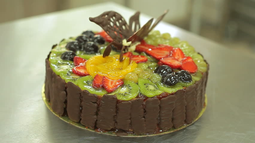 Beautiful Fruit Cake Images : Fruit Cake Closeup Stock Footage Video 2320739 - Shutterstock