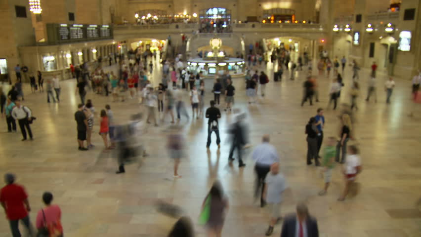 Grand Central Train Station - Manhattan - HD stock video clip