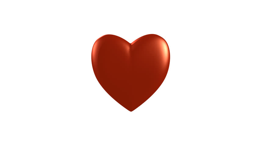Heart with Arrow. Symbolic love theme. An arrow goes through the heart, then drop of blood falls down. With alpha matte you can choose whatever background you like.  - HD stock video clip