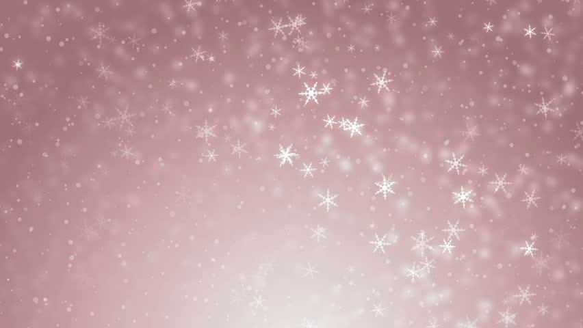 white glitter background seamless loop winter theme vj