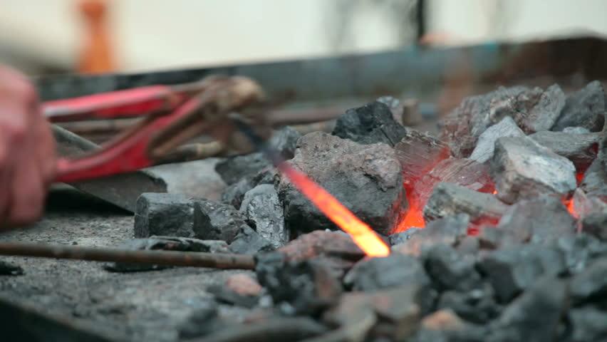 fire of a blacksmith