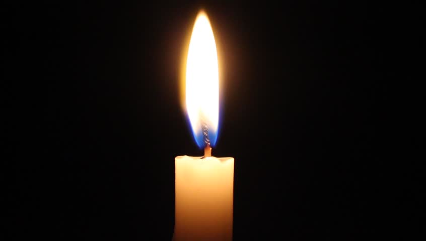 Candle blown out