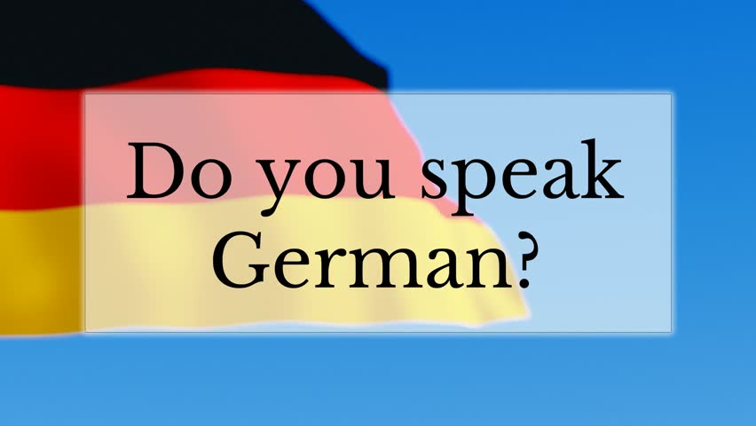 i want to learn how to speak german