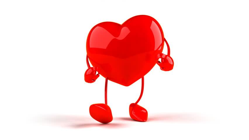 Heart dancing hip hop - HD stock video clip