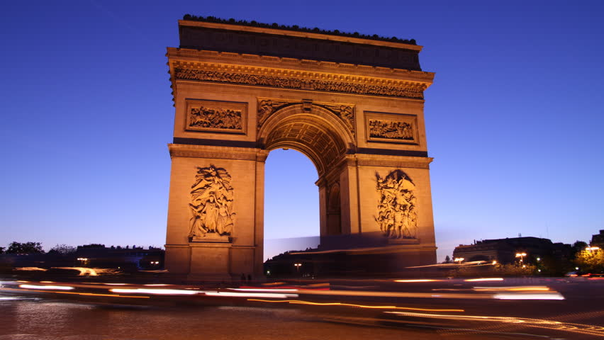 Arc de Triomphe, Paris | Shutterstock HD Video #1219408