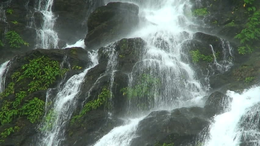 Tamaraw waterfalls in Philippines