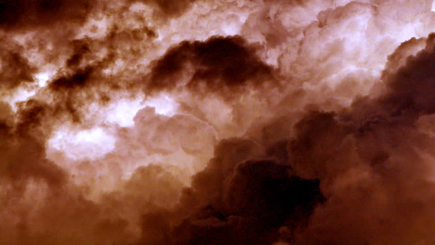 Thunderstorm forming. - HD stock footage clip