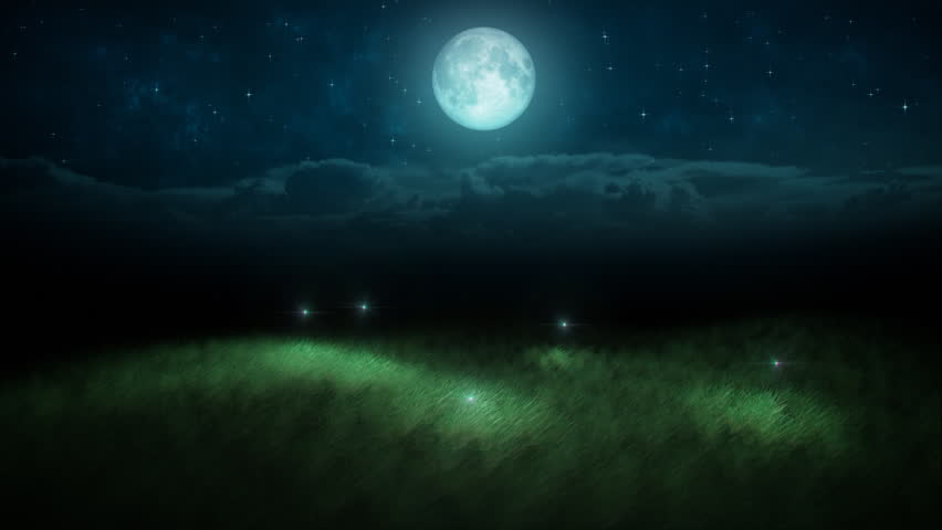 Fireflies loop stock footage video 1271068 shutterstock for What does the song moon river mean