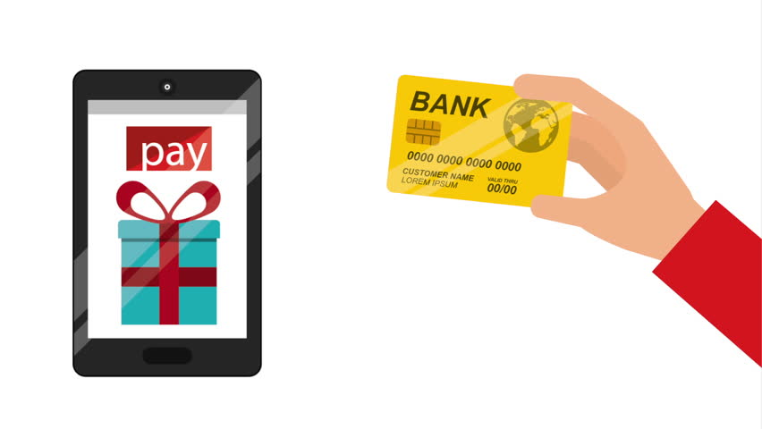Pay with credit card, Video Animation HD1080