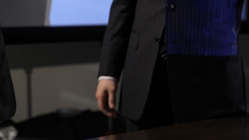 Business handshake - HD stock video clip