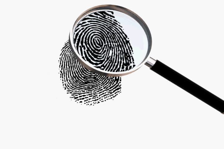 Fingerprint Magnifing Glass