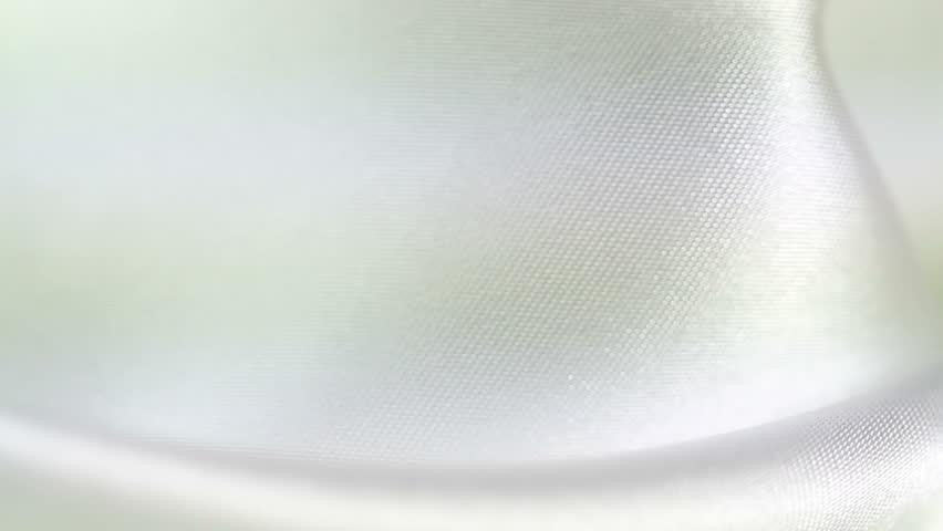 background of satin fabric closeup