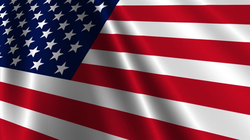 USA Flag Loop 3 - HD stock video clip