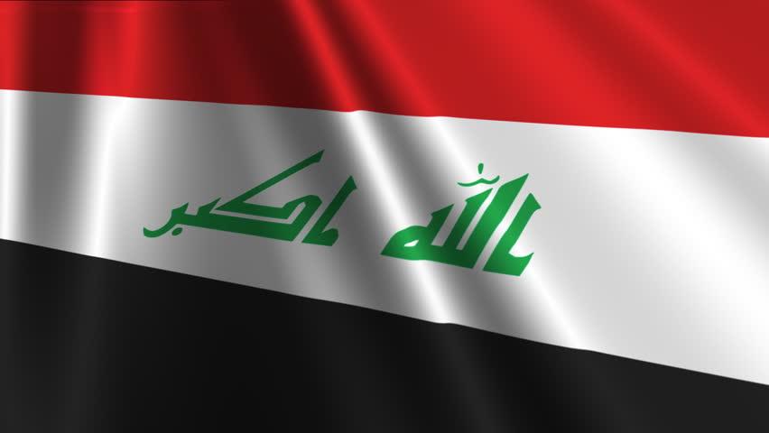 Iraq Flag Loop 03