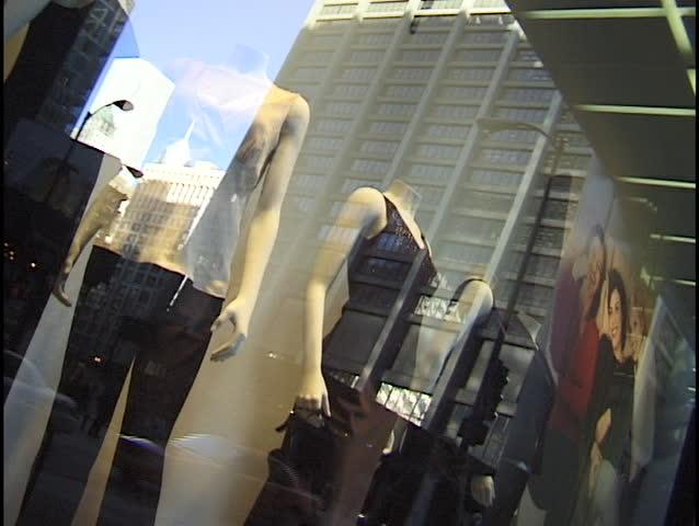 fashion store window
