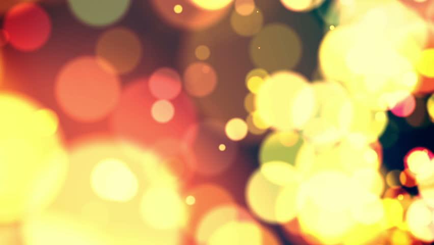 Defocused Abstract Background - Macro Shot - Warm Colors