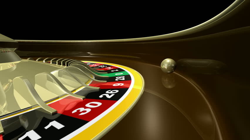 Roulette wheel with spinning ball.  Seamless Loopable. HD 1080i. 3D animation. | Shutterstock HD Video #140326