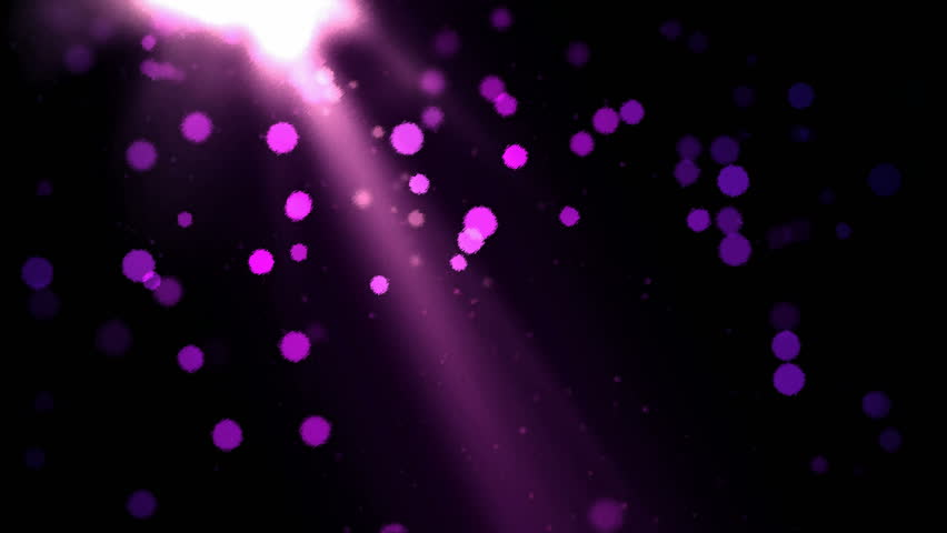 Abstract Particle Background - Loop Purple - 4K stock footage clip