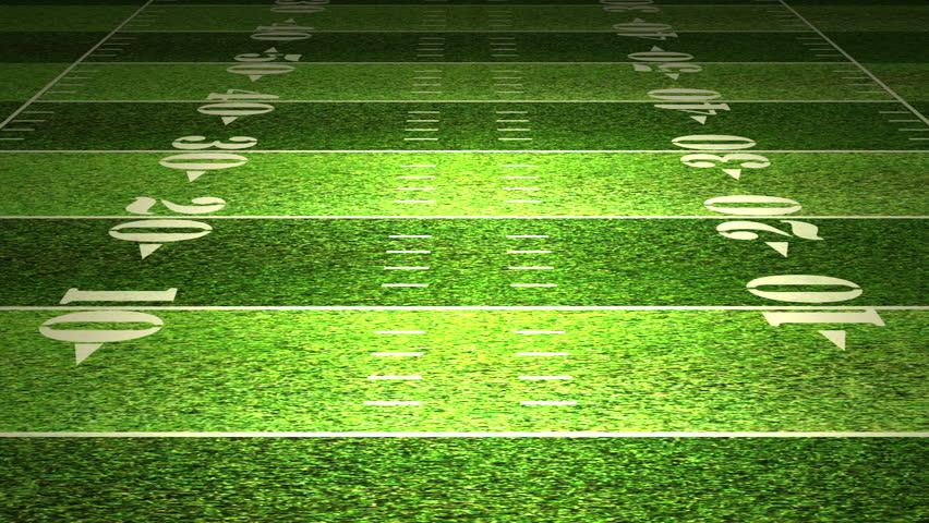 American Football Field Tactics Animation. Stock Footage ...