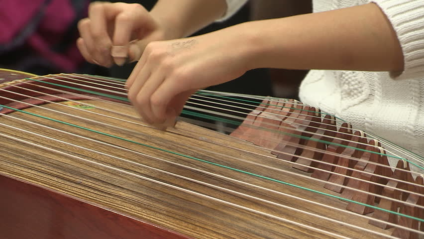 Bamboo Xylophone Mat (Ranat) Instrument Of Thailand (no Sound) Stock Footage Video 5002412 ...