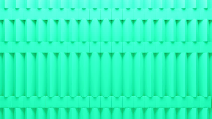 Abstract rectangular and box elements background with randomly rotated elements, 3d render or boxes and rectangles with fillet edges, loopable  | Shutterstock HD Video #14498701