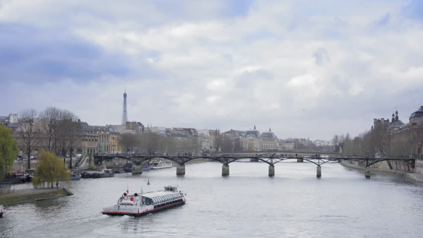 Paris view during the winter | Shutterstock HD Video #14561008