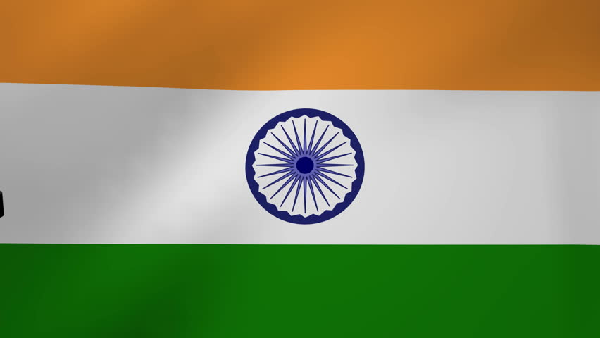 Flower With Indian Flag Hd: India An Elegant Animation Of The Worlds Flags, Using A