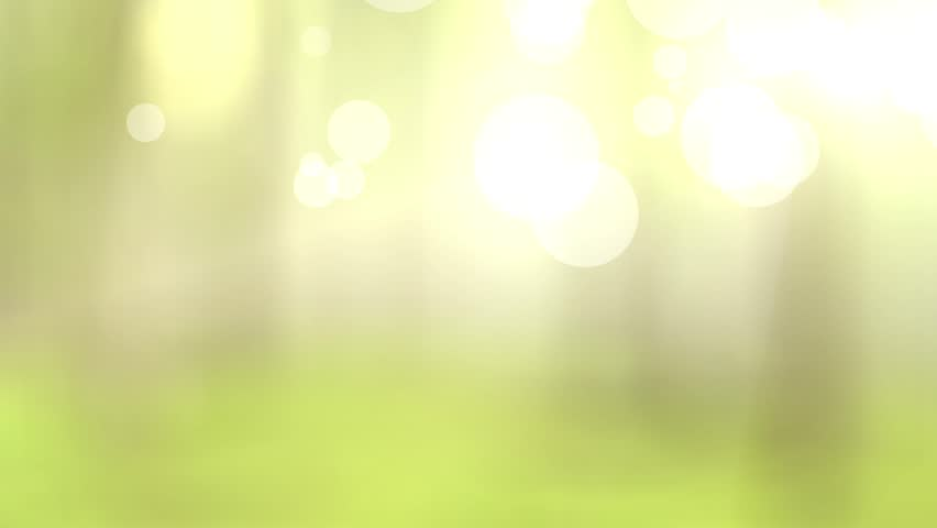 Natural green motion background (seamless loop) - HD stock video clip
