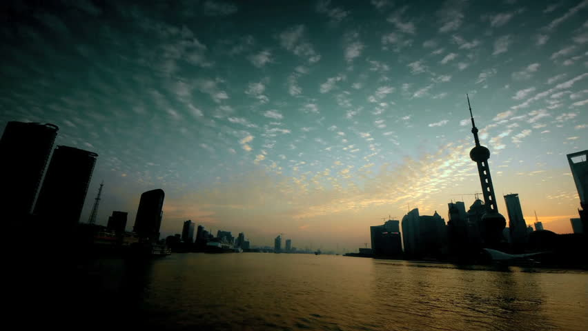 shanghai time-lapse.