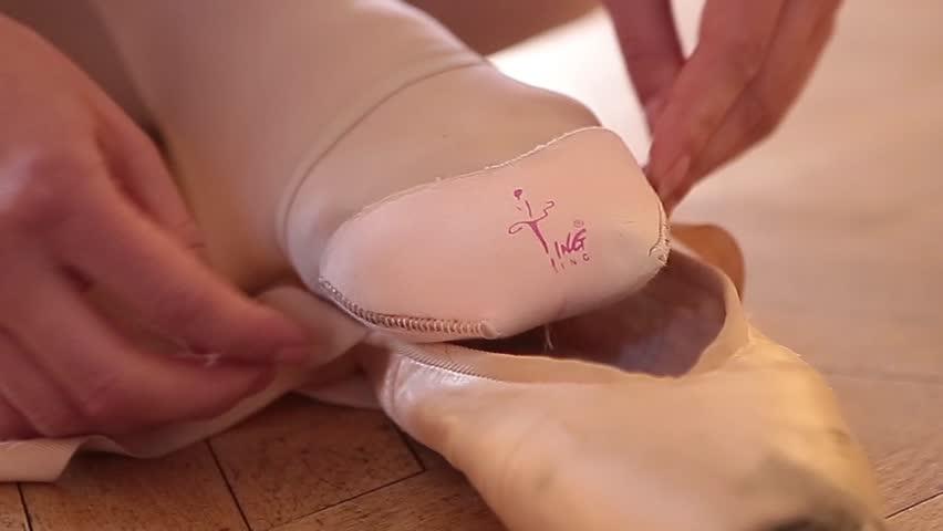 ballerina - HD stock footage clip