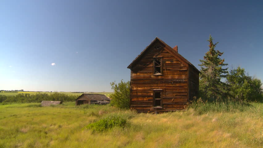 Abandoned farm house stock footage video 1489711 for House pic hd