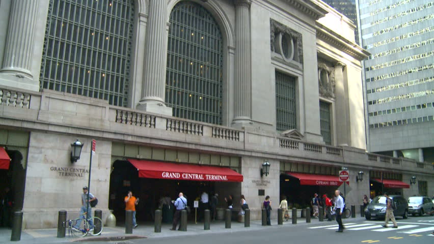 Grand Central Station, New York City - HD stock footage clip