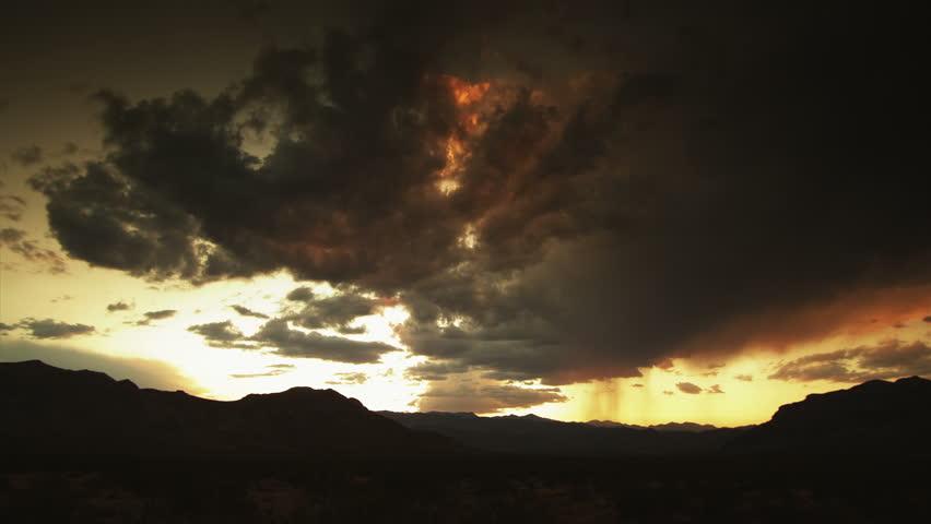 Desert Storm  - HD stock video clip