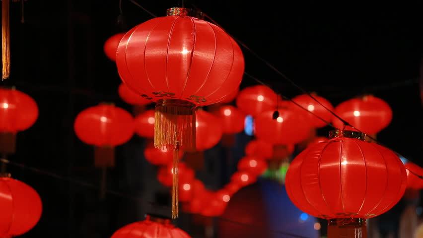 Chinese lantern, for celebrate spring festival. | Shutterstock HD Video #15506647