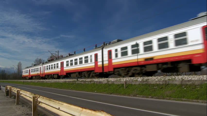 Train passing by | Shutterstock HD Video #1552030