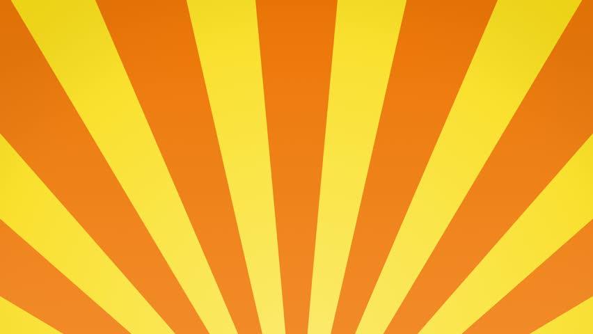 Radial rising sun burst loop geometric motion background orange and yellow | Shutterstock HD Video #15615853