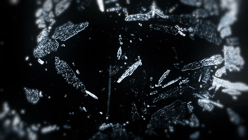 transparent ice crystals melt snowflakes under a