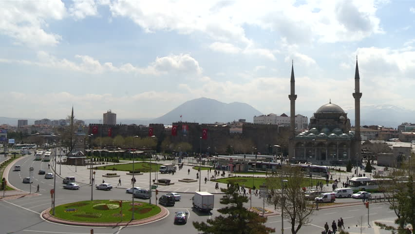 Kayseri City in Turkey-Center of city