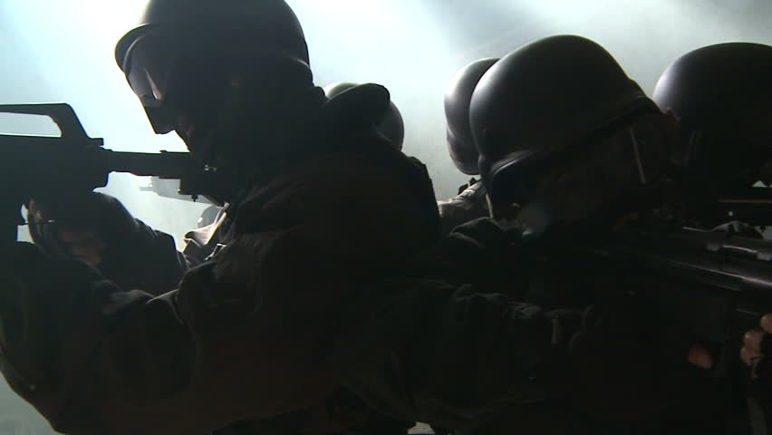 special forces 360 degree turn on attic slow motion v1