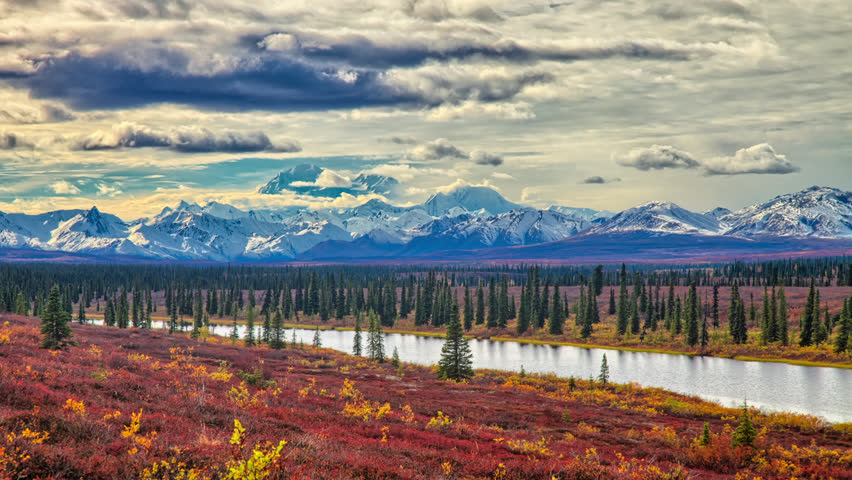 Header of Alaska Range
