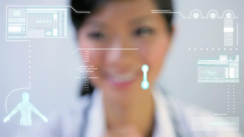 DNA Medical Touchscreen Technology | Shutterstock HD Video #1644604