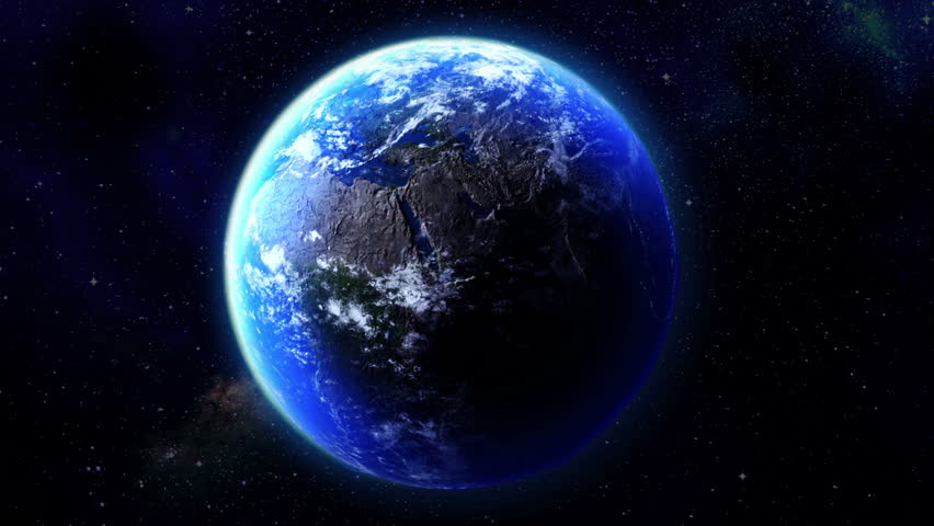 Earth Burns. Ecological concept.