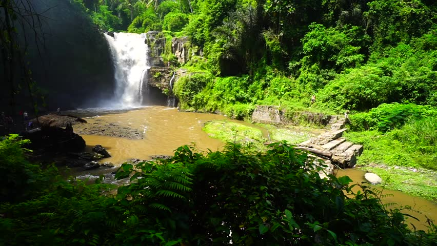 Bali, Indonesia. Tegenungan Waterfall. | Shutterstock HD Video #16627390